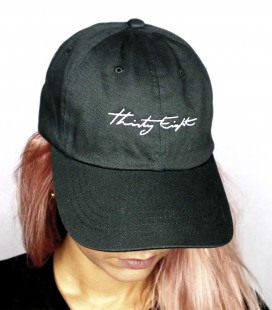 GORRA THIRTY EIGHT AJUSTABLE NEGRO