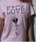 CAMISETA FUCK LOVE PINK